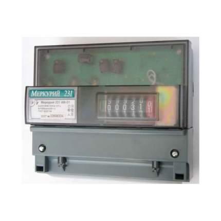 Счетчик электроэнергии Incotex Меркурий 231Am-01 Счетчик Эл/Эн 3Ф 1Т 5(60)А, 6-Ти