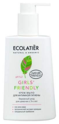 Крем-мыло для интимной гигиены ECOLATIER Girls' Friendly 250 мл