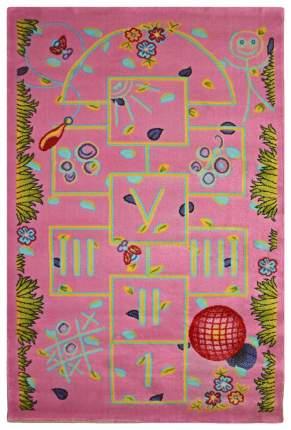 Ковер детский цвет алый 60 x 110 арт, УКД-2027
