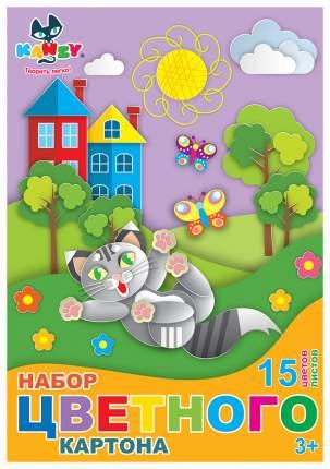 Набор цветного картона Kanzy KNY 030604
