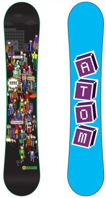 Сноуборд Atom Smart People 2021, 155 см