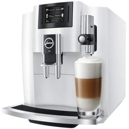 Кофемашина автоматическая Jura E8 Piano White