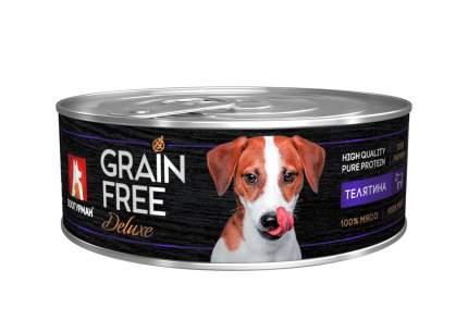 Консервы Зоогурман Grain Free Телятина для кошек (100 г, Телятина)
