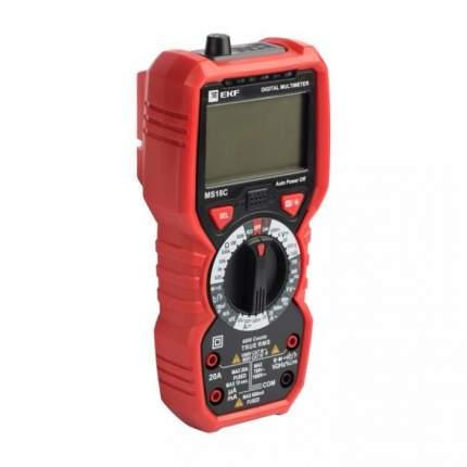 Мультиметр цифровой MS18C EKF Expert