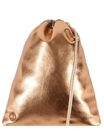 Рюкзак-мешок Mi-Pac Gold Kit Bag Metallic Rose Gold,13l