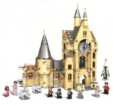 Конструктор BELA Lari Justice Magician 11344 Часовая Башня Хогвартса, 958 деталей