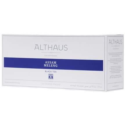 Чай Althaus Assam Meleng черный байховый в пакетиках 20*4 г