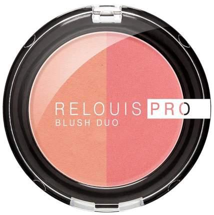 Румяна Relouis Pro Blush Duo 201 6 г