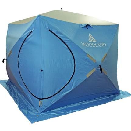 Зимняя палатка куб Woodland Ice Fish Double двухслойная