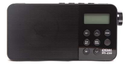 Радиоприемник Сигнал РП-230 Черный (17836)