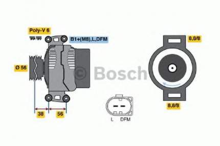 Генератор Bosch 0124525088