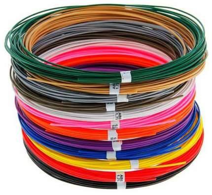 Набор abs-пластика №12 (12 цветов по 10 метров)