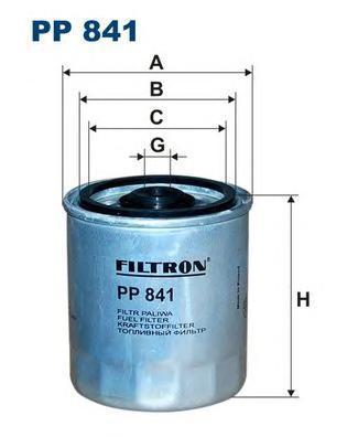 Фильтр топливный Filtron PP841