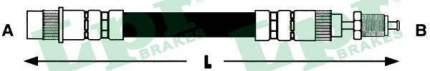 Шланг тормозной системы Lpr 6T46559