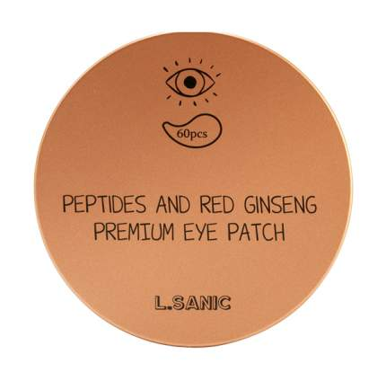 Патчи для глаз L'Sanic Peptides and Red Ginseng Premium Eye Patch 60 шт