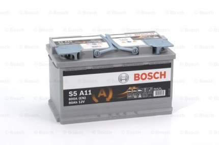 Аккумулятор автомобильный Bosch 0 092 S5A 110 80 Ач