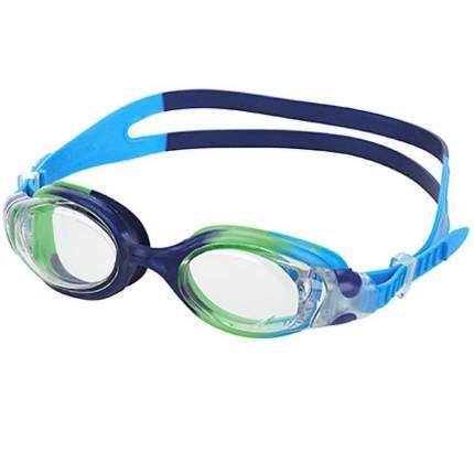 Очки для плавания Fashy Match 4134, 6-12 лет, синие/прозрачные