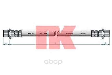 Шланг тормозной системы Nk 854540 задний правый