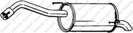Глушитель выхлопной системы bosal 145127