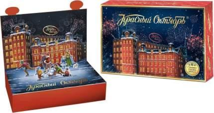 Набор Красный октябрь фирменный новогодний подарочный конфеты ассорти 500 г