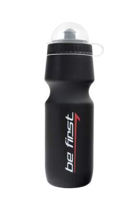 Бутылка для воды Be First 750 мл с крышкой, черная