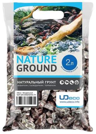 Грунт для аквариума UDeco Stream Wavy 30-50 мм 2 л