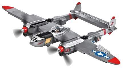 Конструктор пластиковый COBI Самолет P-38L Lightning