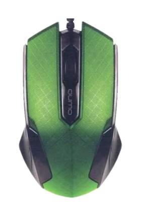 Проводная мышка QUMO M14 Green/Black