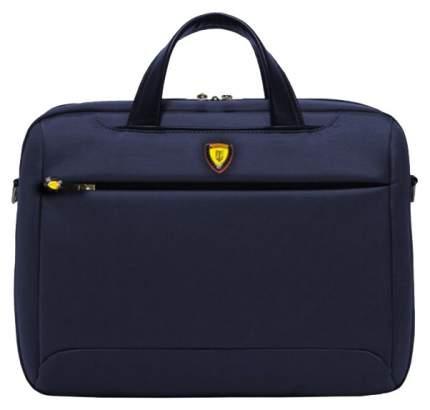 """Сумка для ноутбука 16"""" Jet.A LB16-77 темно-синяя"""