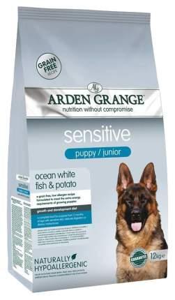 Сухой корм для щенков Arden Grange Sensitive Puppy/Junior, рыба, 12кг