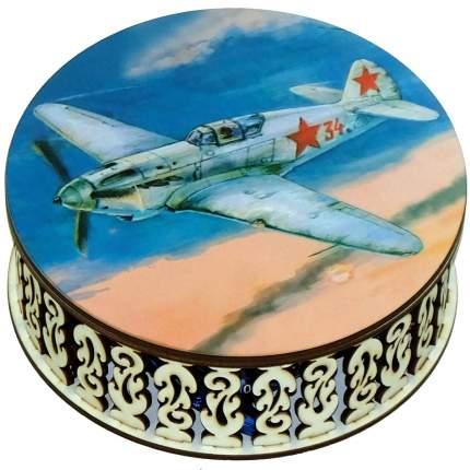 Конфеты чернослив кремлина шоколадный Кремлина шкатулка круглая самолет 400 г