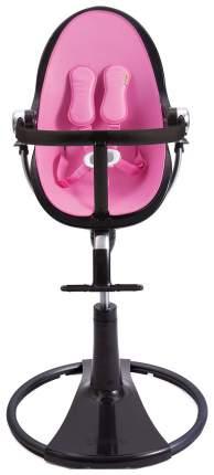 Стульчик для кормления Bloom Fresco Chrome Noir черный, розовый
