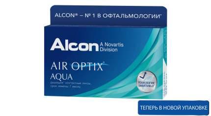 Контактные линзы ALCON Air Optix Aqua 6 линз -4,50