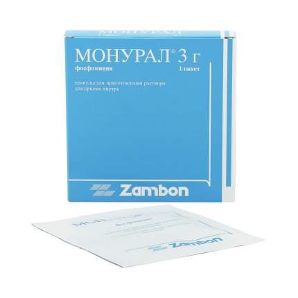 Монурал гранулы пакеты 3 г 1 шт.