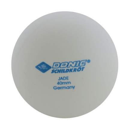 Мячи для настольного тенниса Donic Jade белые, 6 шт.