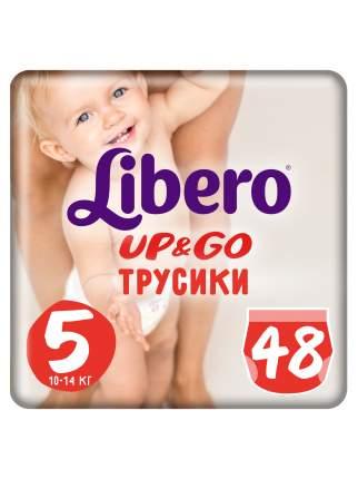 Подгузники-трусики Libero Up&Go Size 5 (10-14кг), 48 шт.