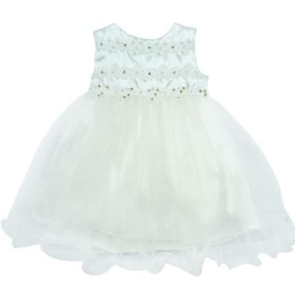 Платье детское Папитто р.74 4898 белый