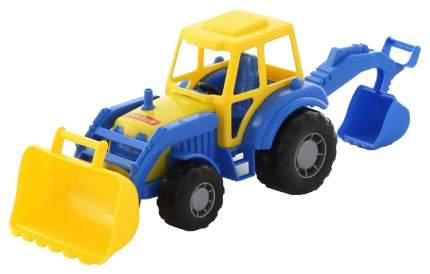Машинка Полесье Трактор-Экскаватор 35318, в ассортименте