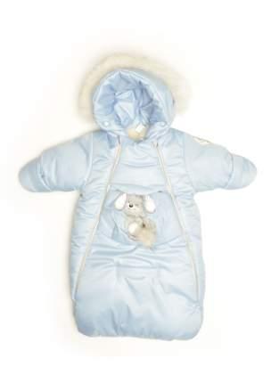 Конверт для новорожденного Malek-Baby Голубой 306ш/2 р.68