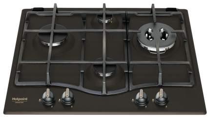 Встраиваемая варочная панель газовая Hotpoint-Ariston PCN 640T(AN) GH R /HA Black