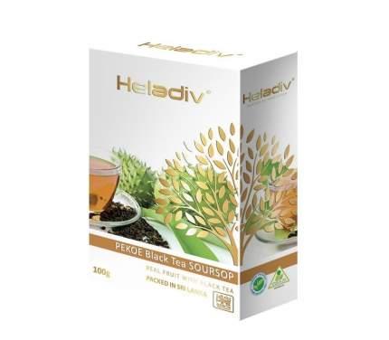 Чай черный  Heladiv soursop black tea 100 г