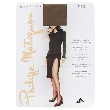 Колготки Philippe Matignon CRISTAL 30 / The (Чай) / 5 (XL)