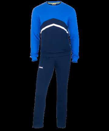 Комплект спортивной формы Jogel JCS-4201-971, темно-синий/синий/белый, L INT