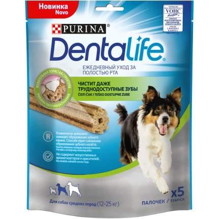 Лакомство для собак Purina DentaLife для средних пород, 115 г