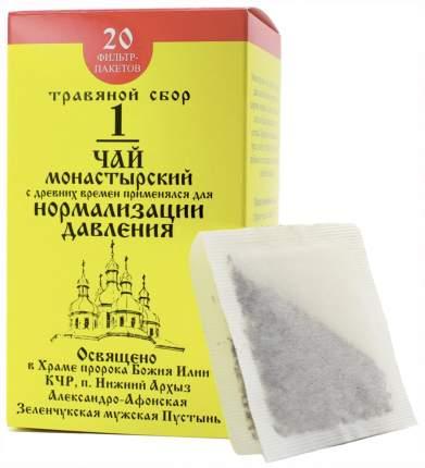 Чай Монастырский №1 Бизорюк Фабрика здоровья для нормализации давления ф/п 20 шт.