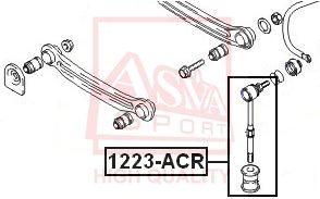 Стойка стабилизатора ASVA 1223-ACR