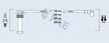 Комплект проводов зажигания FAE 85125