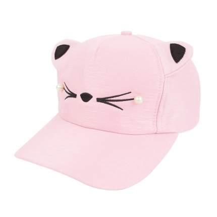 Кепка Kawaii Factory с ушками Кот розовая