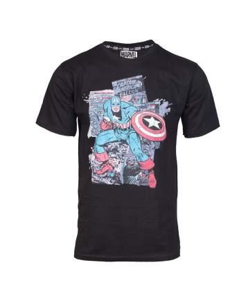 Мужская футболка Marvel MC Capt. Amer. Comics (Размер L)