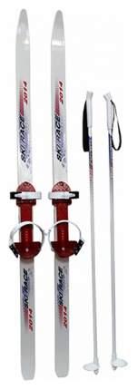Лыжи подростковые Дартс-Ковров Ski Race с палками 120/95 Лыж 36527
